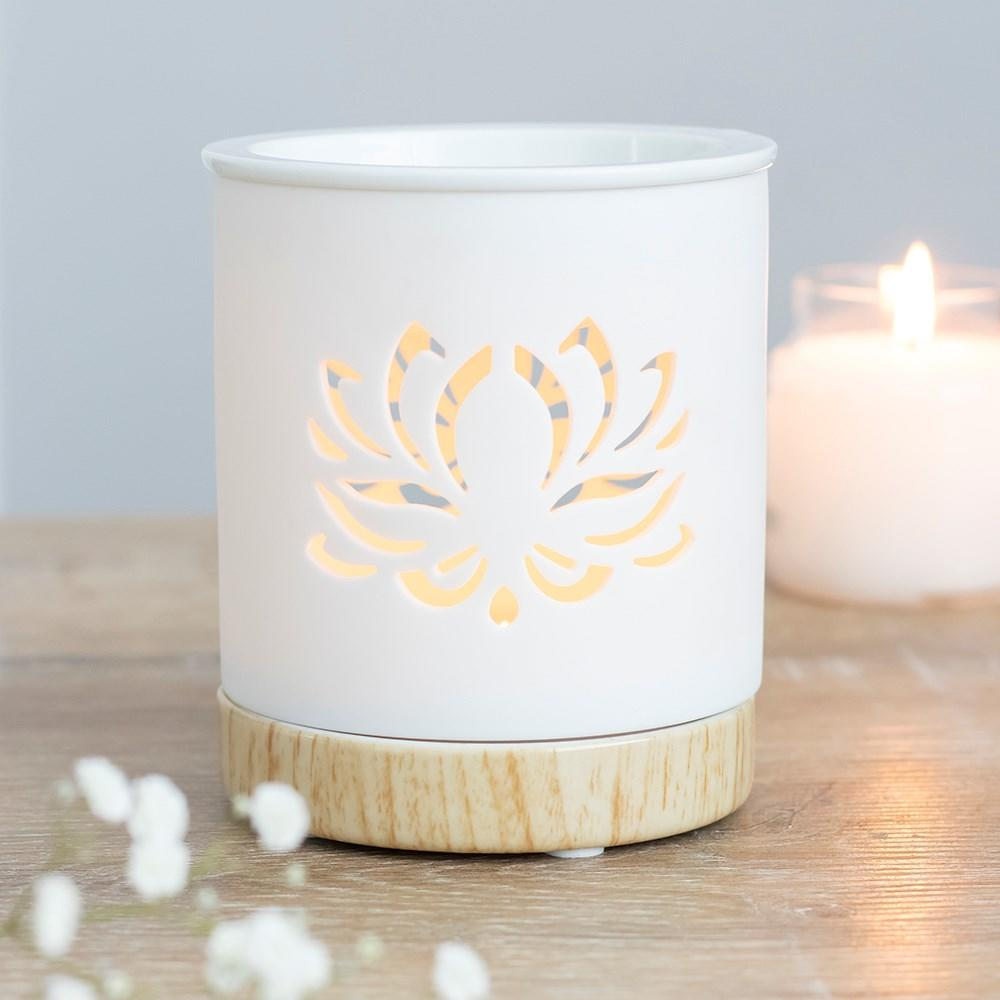 lotus ceramic oil burner