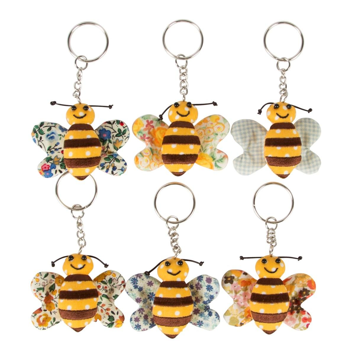 Bee key rings