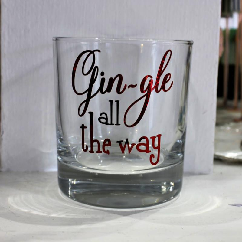 gin-gle all the way glass