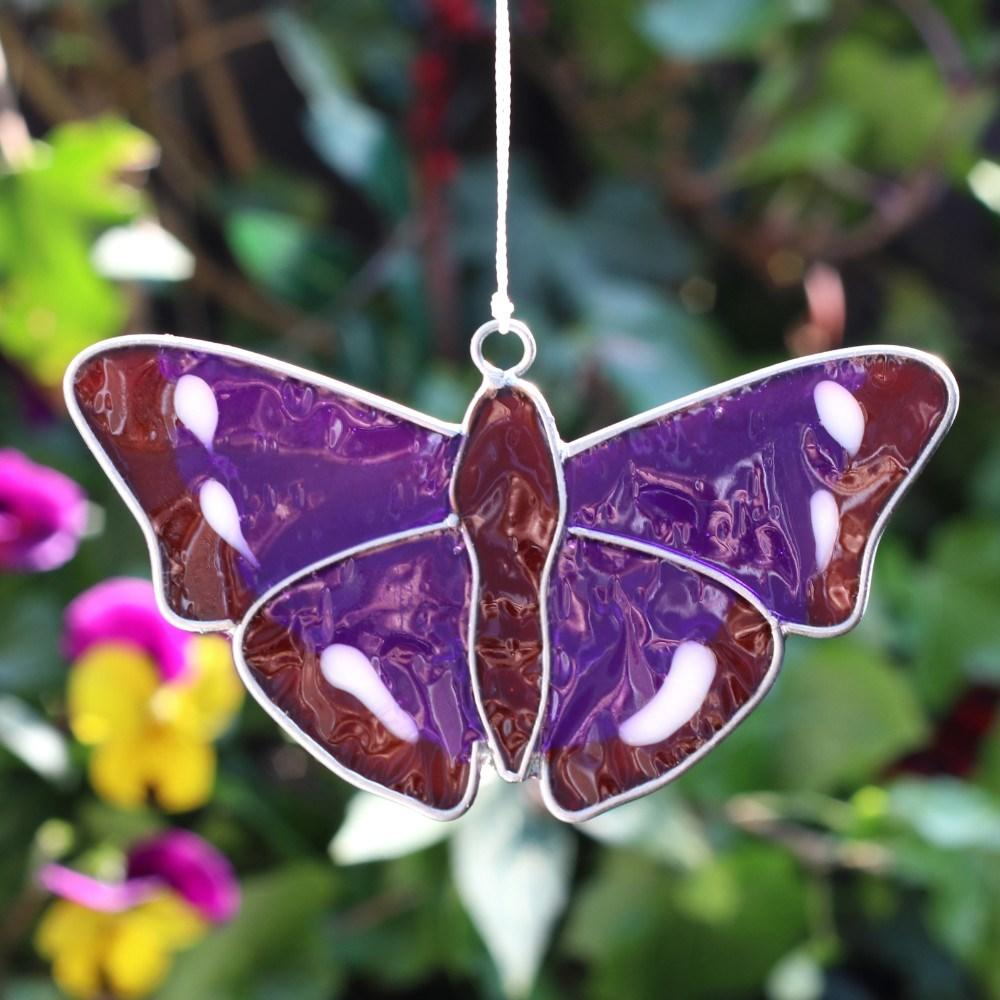 purple emperor butterfly sun catcher