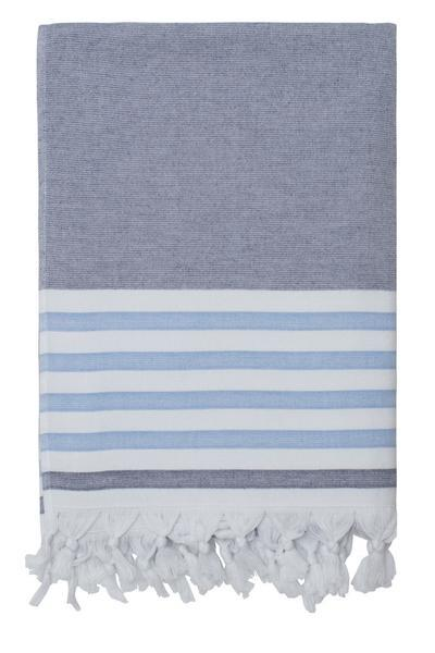 Navy Dina Beach towel