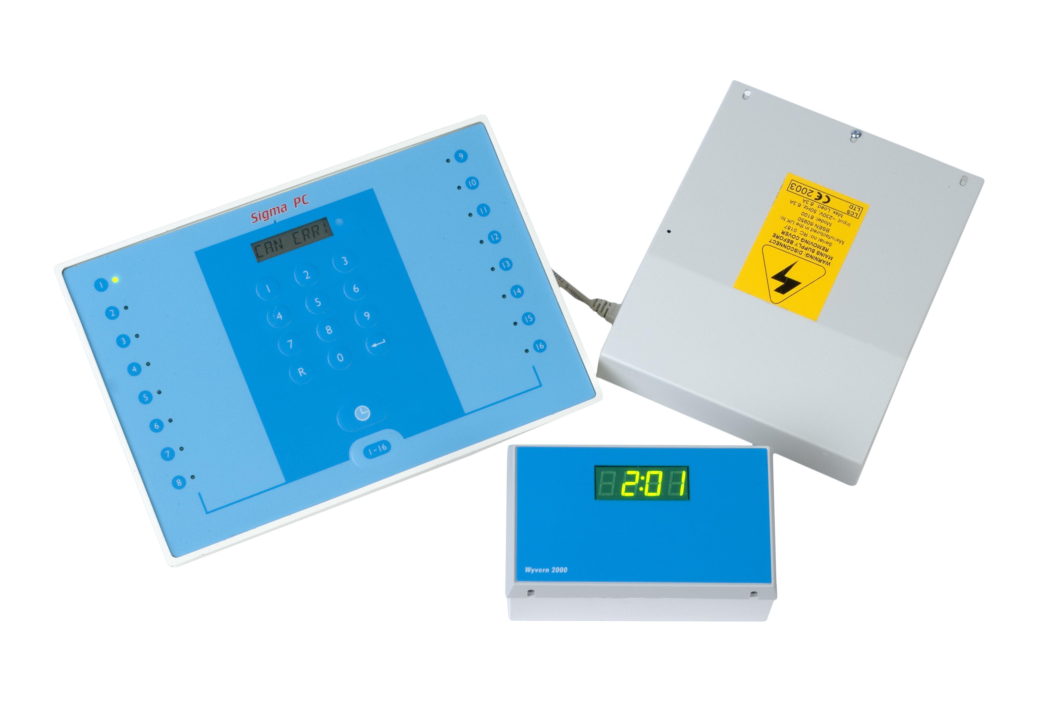 Sigma PC, a Reception Control System