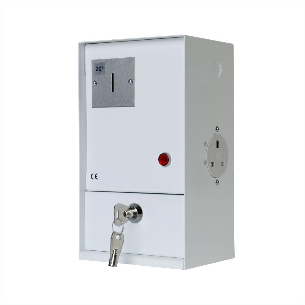 Socket Timer, coin operated electrical outlet