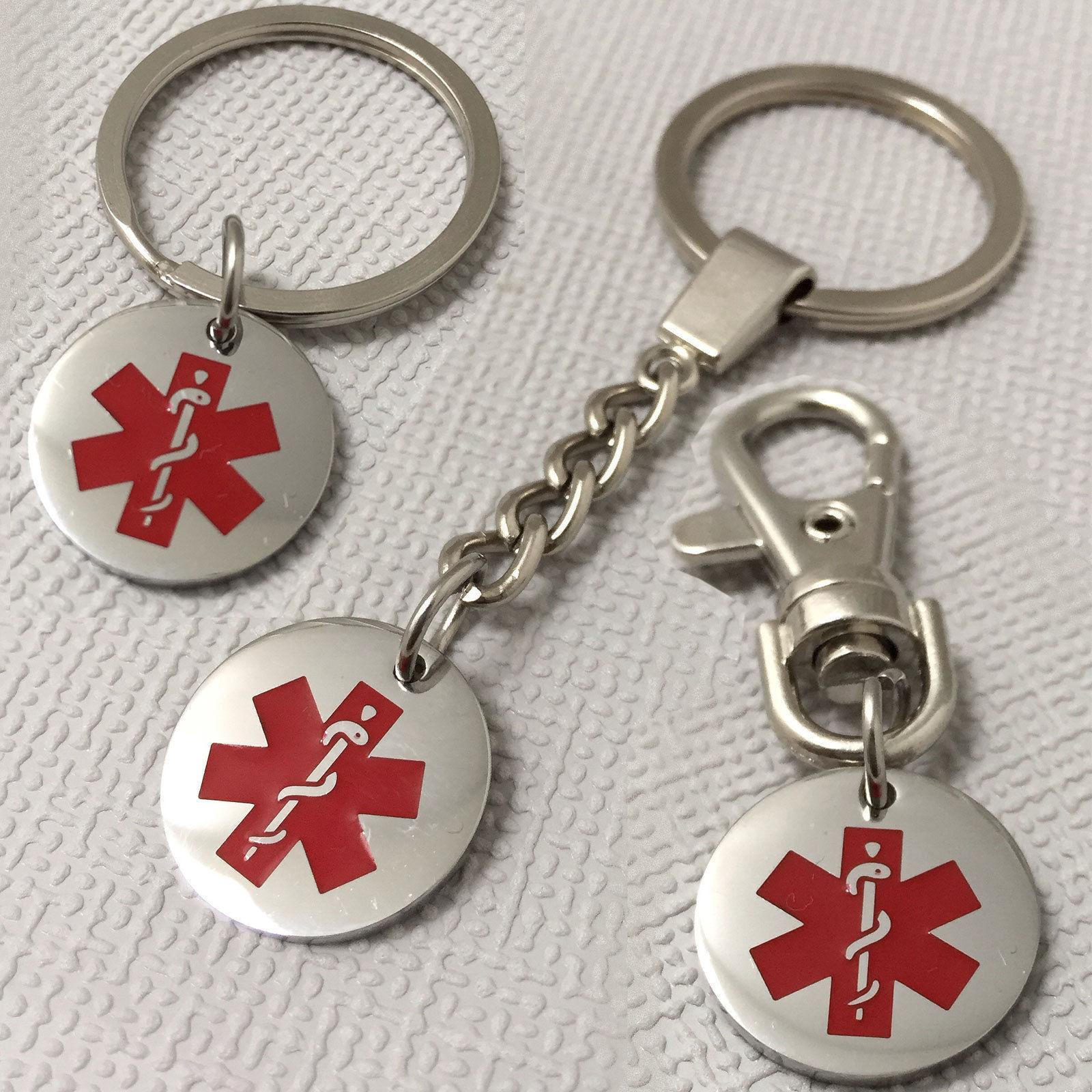 Medical Alert Keyrings