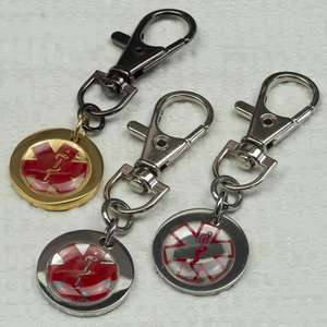 Personalised MEDICAL ALERT Keyrings