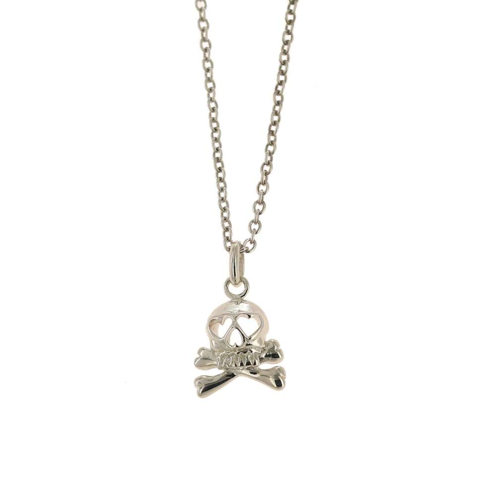 Skull and Bones Necklace or Pendant