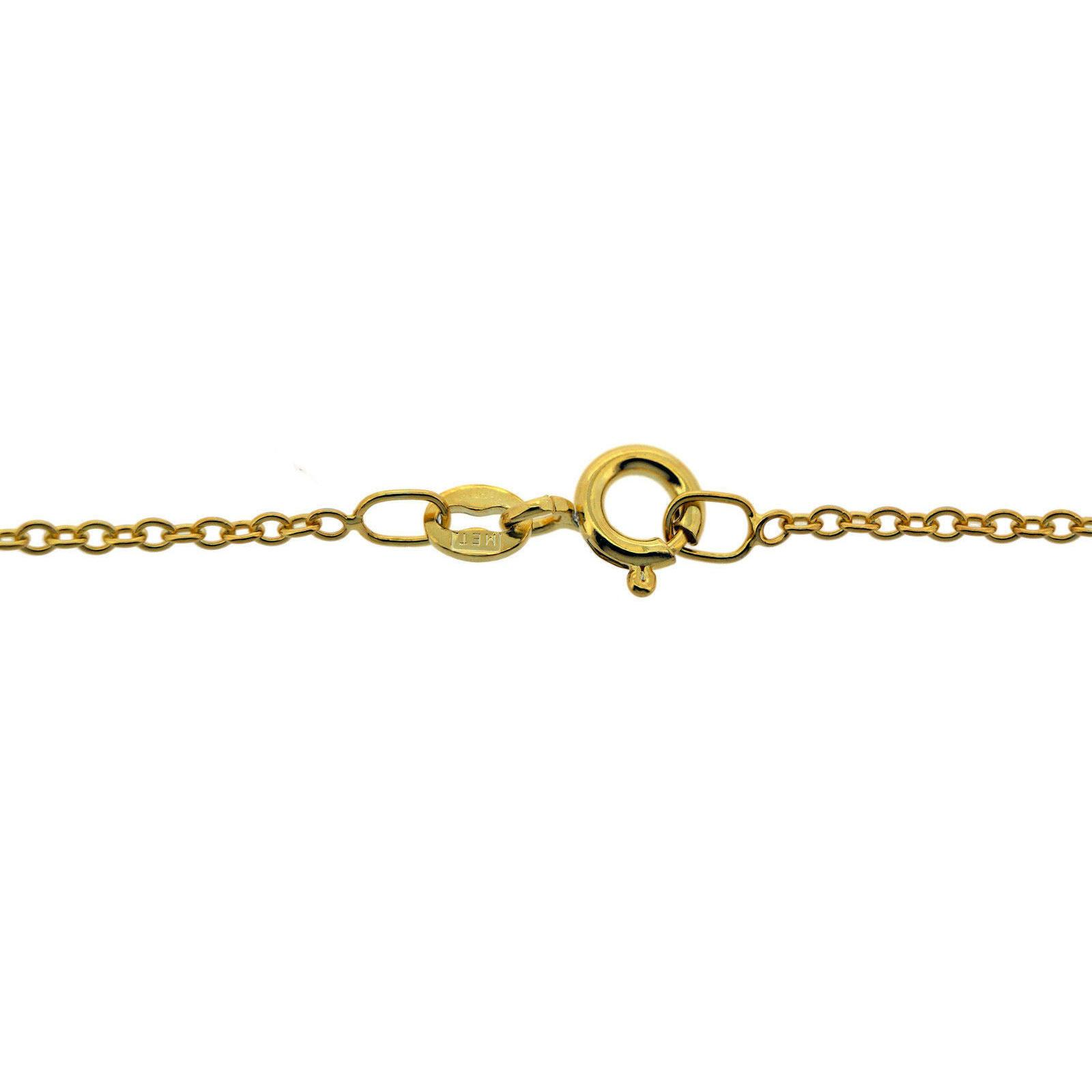 Italian made Organically E-coated 9ct Gold Plated 1.6mm Trace Chains