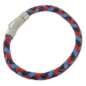 A Unisex Help for Heroes Leather Bracelet