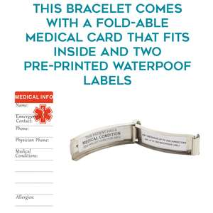 Expanding Bracelet Waterproof Labels