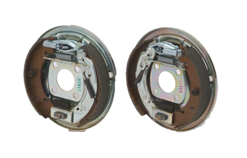 BRAKE SHOES & BACK PLATE ASSEMBLIES