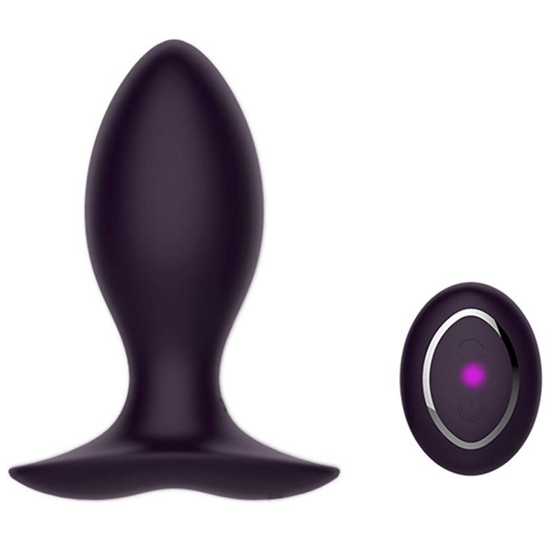 Neil II 45 Silicone Jiggle Ball Rechargeable Remote Control Vibrating Anal Butt Plug by Libotoy 1