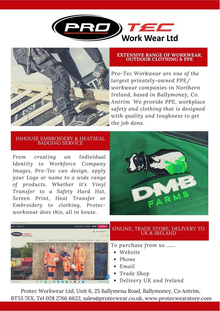 Protec Workwear Newsletter April 2021