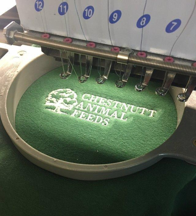 EMBROIDERY AND TRANSFER