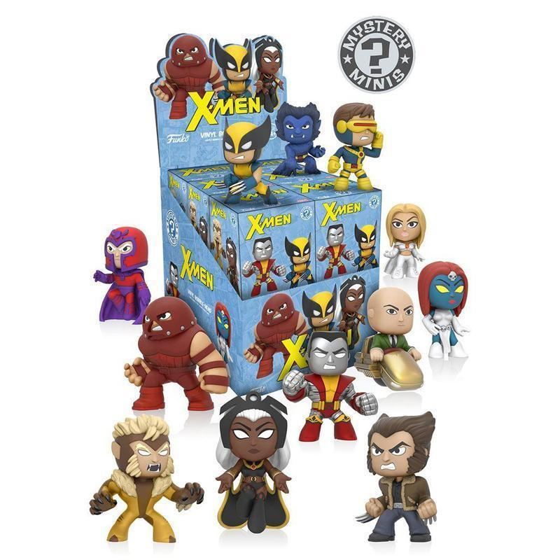 X-Men Mystery Mini Figures