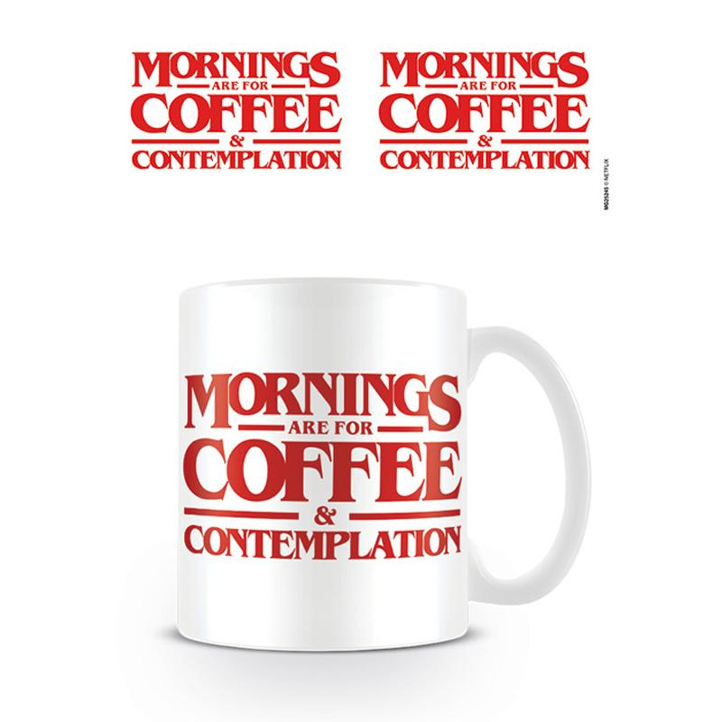 Stranger Things (Coffee and Contemplation) Coffee Mug