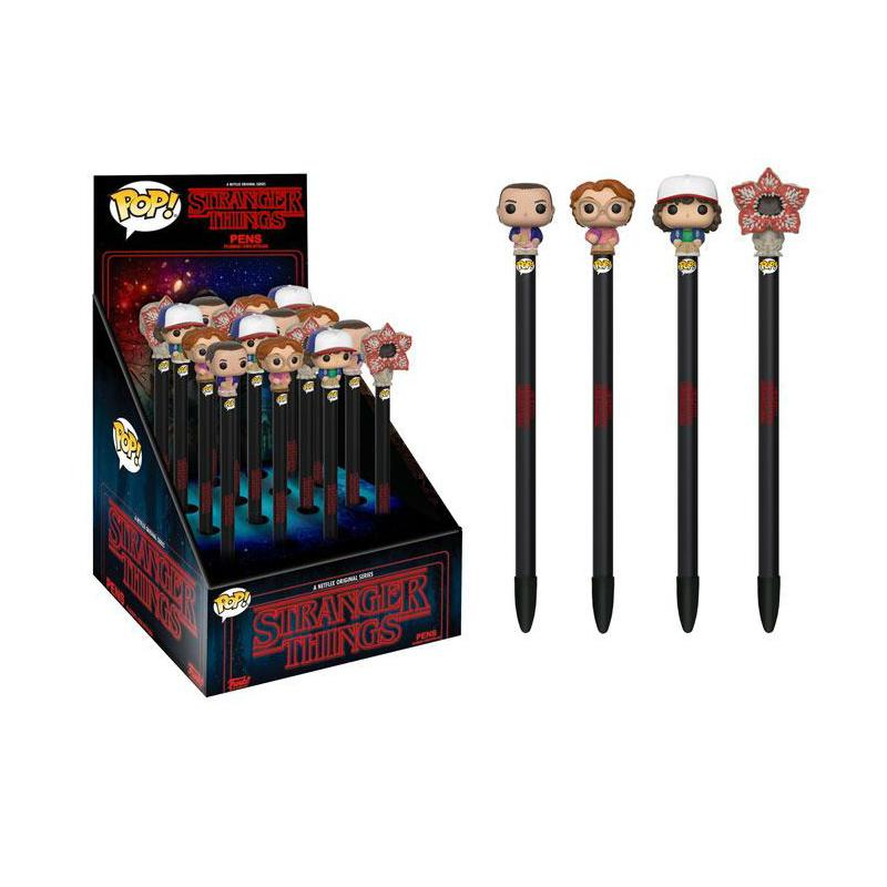 Stranger Things POP! Pens with Toppers