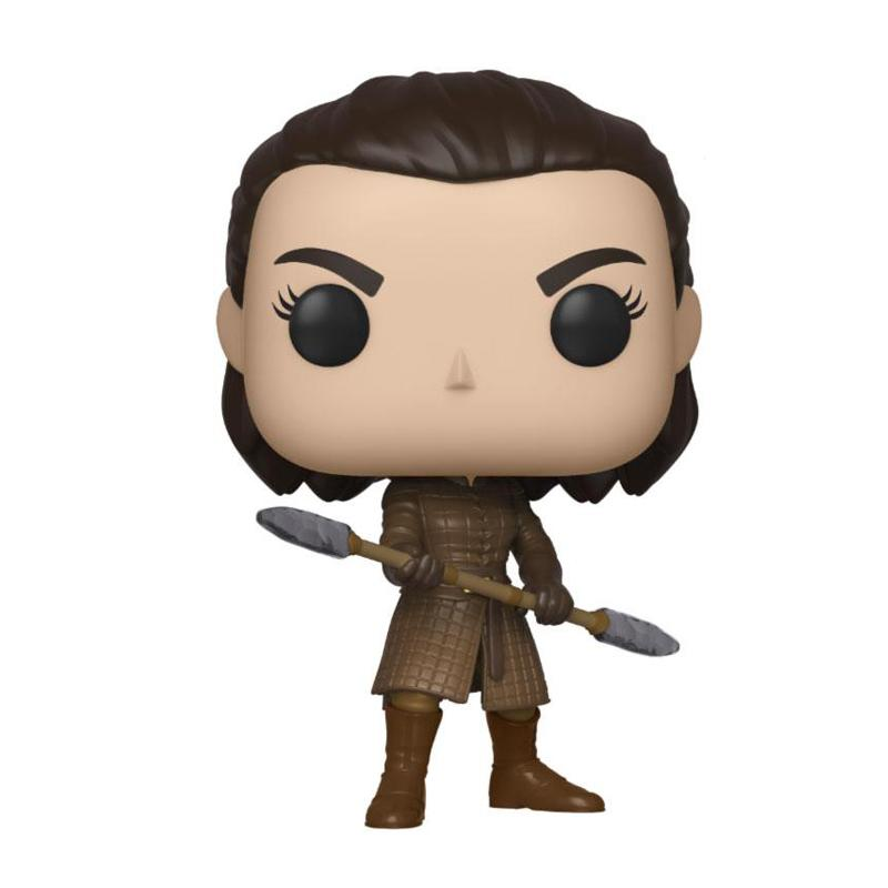 Game of Thrones POP! Television Vinyl Figure Arya w/Two Headed Spear