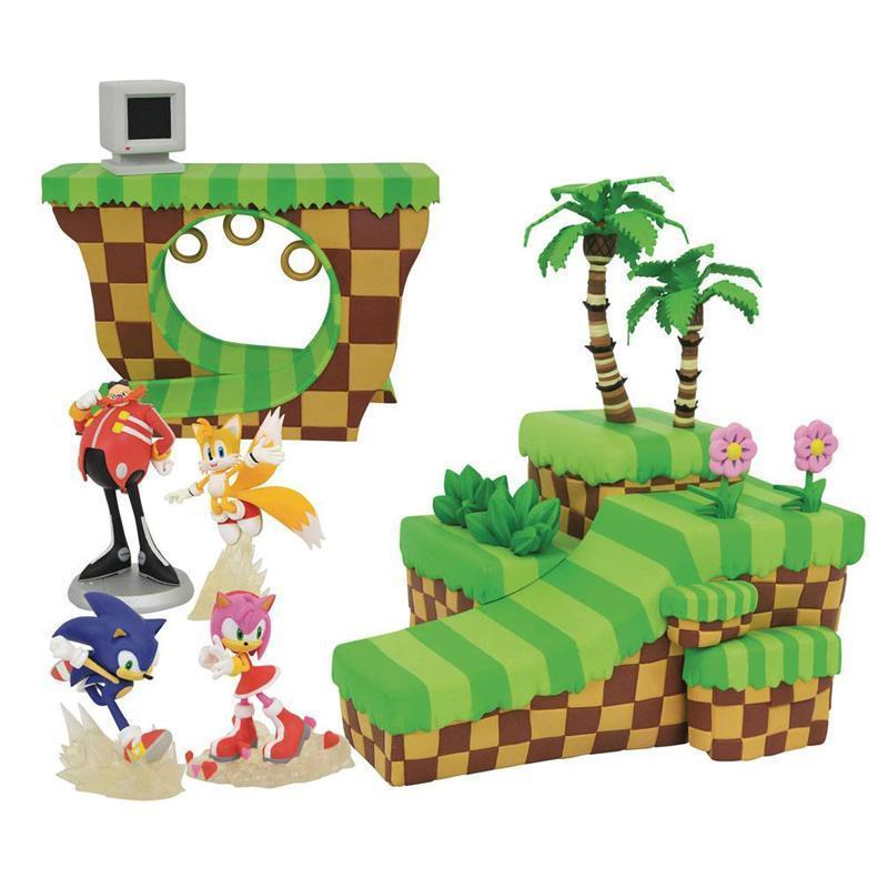 1 - Sonic and Amy Sonic the Hedgehog Playset Dioramas