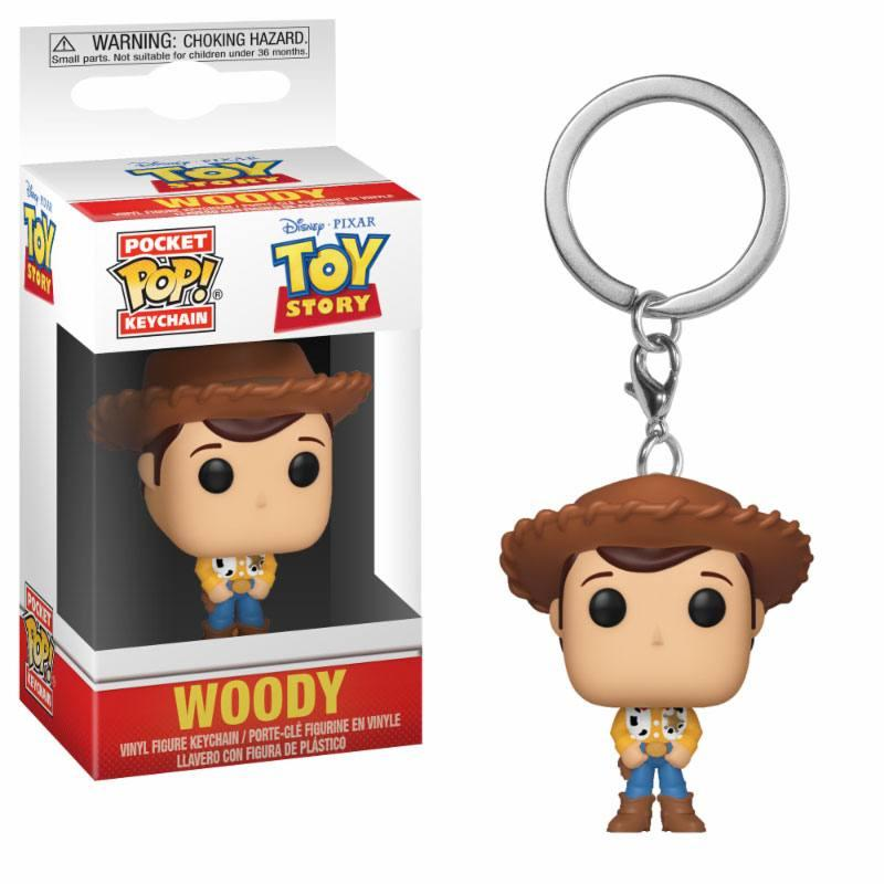 Toy Story Pocket POP! Vinyl Keychain Woody