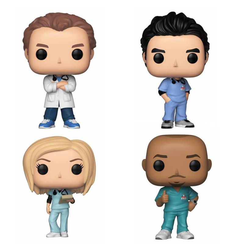 Scrubs POP! TV Vinyl Figures Bundle