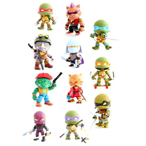 Teenage Mutant Ninja Turtles Action Vinyl Mini Figures 8 cm Wave 2 Display