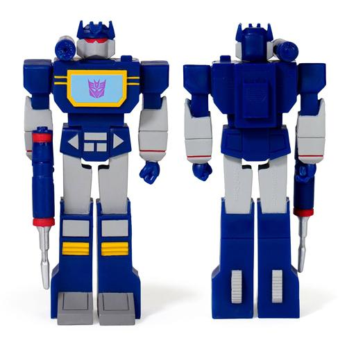 Soundwave ReAction Action Figure Wave 1 Transformers