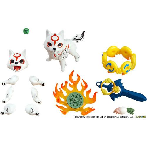 Amaterasu DX Version Nendoroid Action Figure Okami
