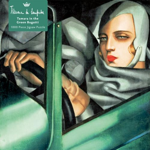 Tamara de Lempicka: Tamara in the Green Bugatti, 1929 Adult Jigsaw Puzzle