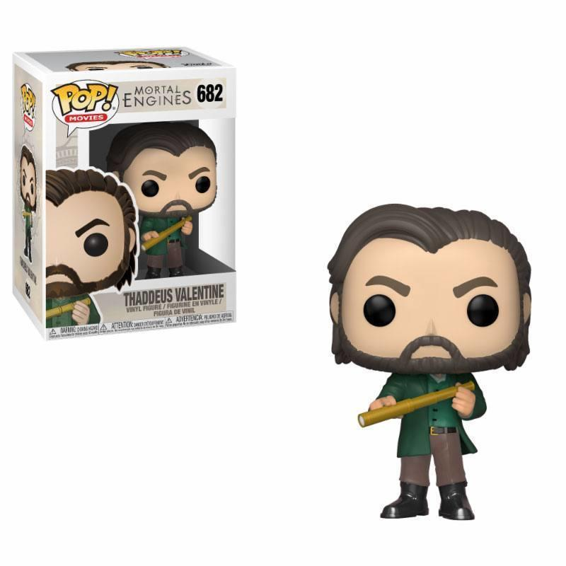 Mortal Engines POP! Movies Vinyl Figure Thaddeus Valentine