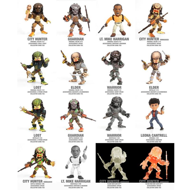 Predator Action Vinyls Mini Figures 8 cm Wave 1