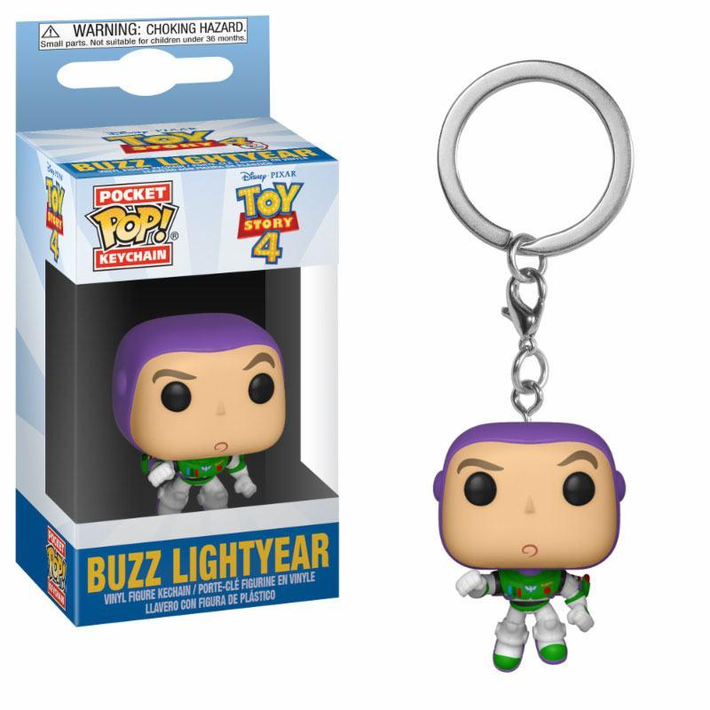 Toy Story 4 Pocket POP! Vinyl Keychain Buzz Lightyear