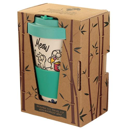 Simon's Cat Travel Mug (Bamboo Composite)