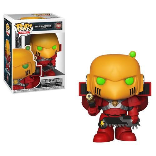 Warhammer 40K POP! Games Vinyl Figure Blood Angels Assault Marine
