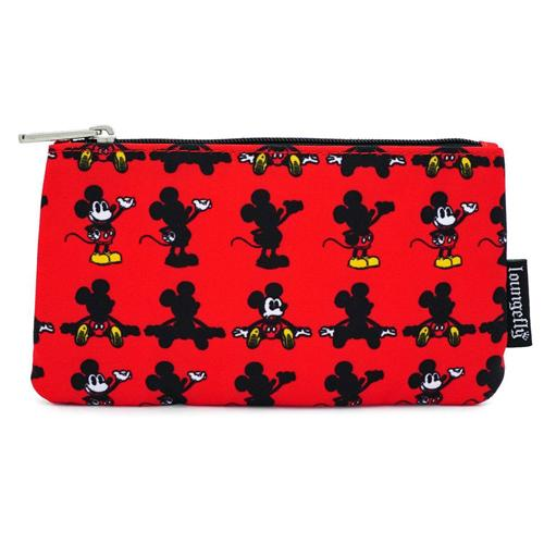 Mickey Parts AOP Coin/Cosmetic Bag Disney by Loungefly