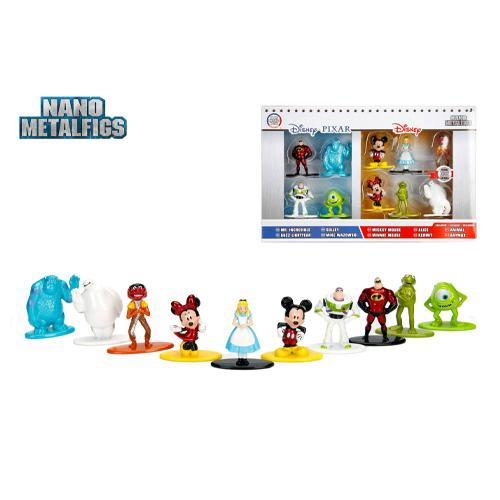 Disney Nano Metalfigs Diecast Mini Figures 10-Pack Wave 1