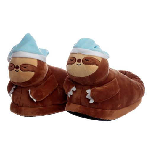 Sloth Plush Slippers