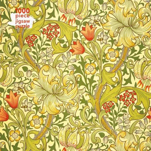 William Morris Gallery: Golden Lily Adult Jigsaw Puzzle