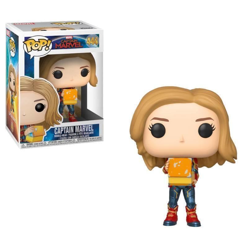 Captain Marvel POP! Marvel Vinyl Bobble-Head Figure Captain Marvel w/Lunch Box (pre-order)