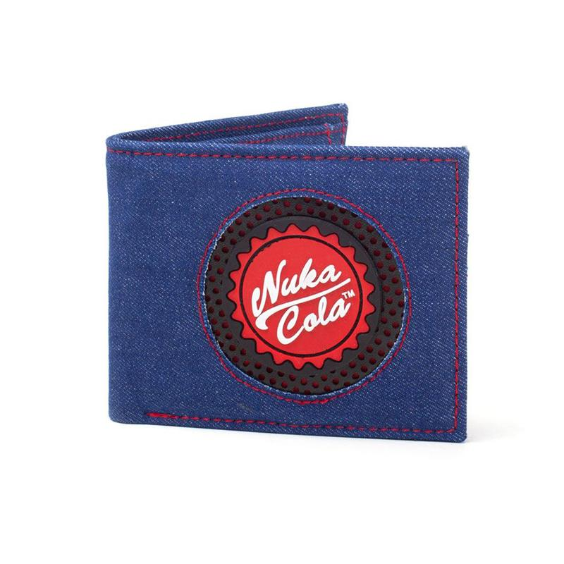 Fallout Bifold Wallet Nuka Cola Bottle Cap