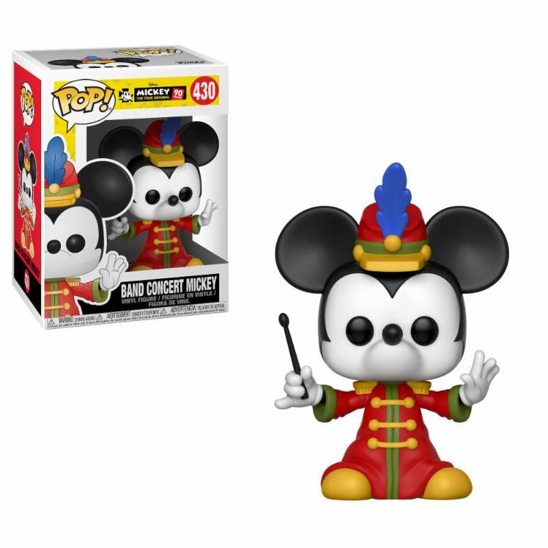 Mickey Mouse 90th Anniversary POP! Disney Vinyl Figure Band Concert