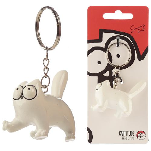 Simon's Cat 3D Keyring
