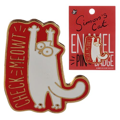 Simon's Cat Enamel Pin Badge