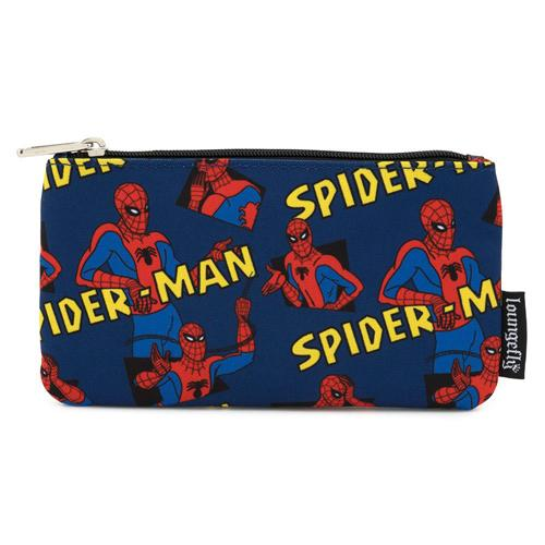 Spider-Man AOP Coin/Cosmetic Bag Marvel by Loungefly