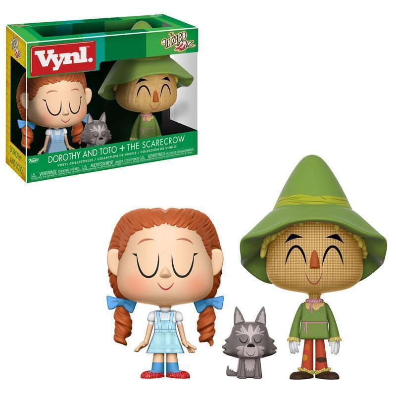 Vynl: Wizard of Oz - Dorothy and Toto + Scarecrow