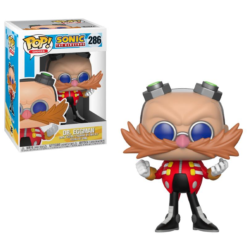 Pop! Games: Sonic the Hedgehog - Dr Eggman
