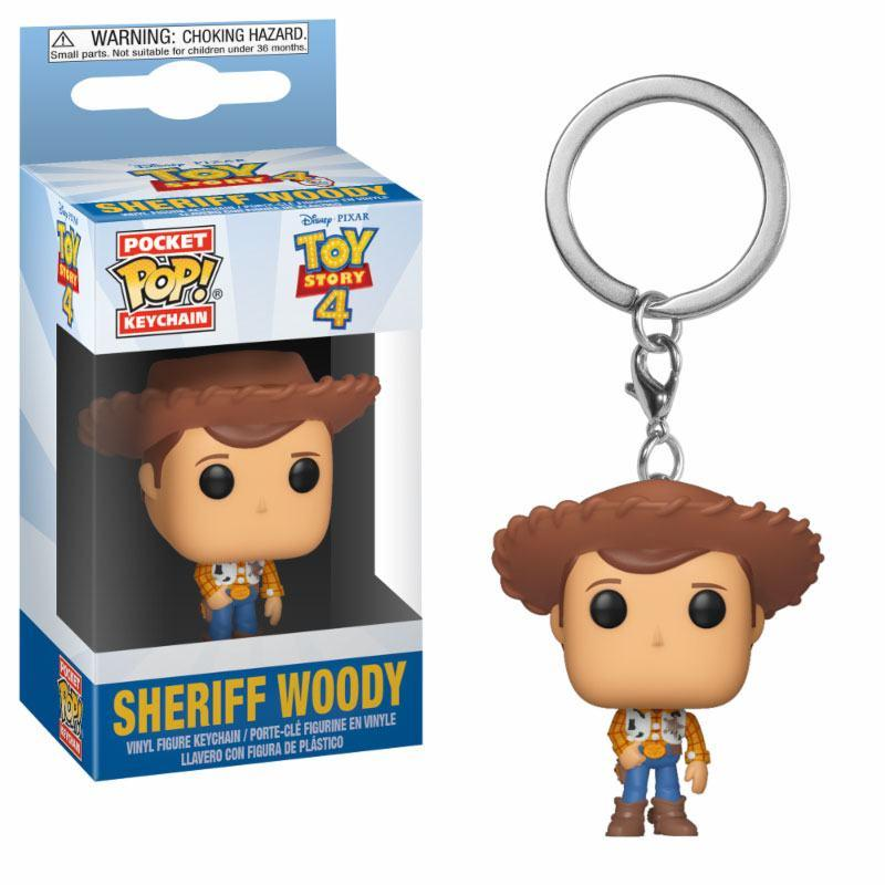 Toy Story 4 Pocket POP! Vinyl Keychain Woody
