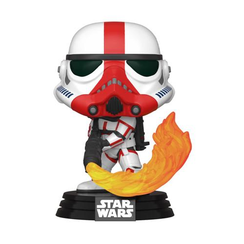 Star Wars The Mandalorian POP! TV Vinyl Figure Incinerator Stormtrooper