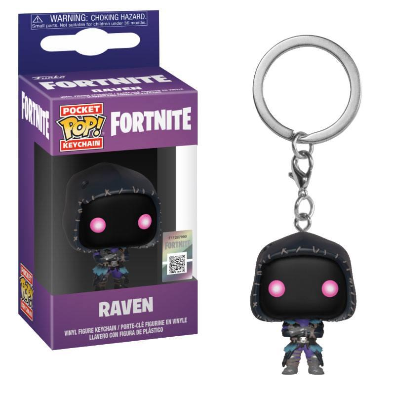 Fortnite Pocket POP! Vinyl Keychain Raven