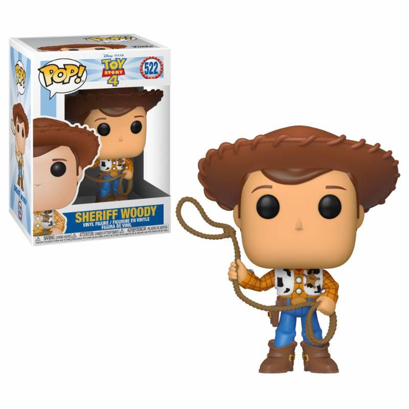 Toy Story 4 POP! Disney Vinyl Figure Woody