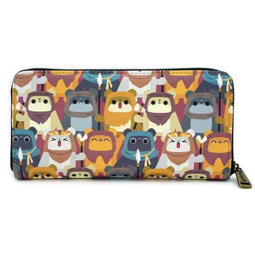 Star Wars by Loungefly Wallet Ewok AOP